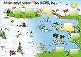 Kinderzimmer Jahresplaner / Jahresüberblick