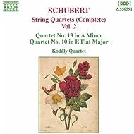 Schubert: String Quartets (Complete), Vol. 2