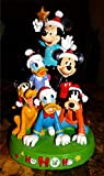 Disney Mickey Mouse & Friends, Goofy, Donald Duck, Pluto, figurine de Noël