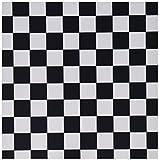 3drose LLC 20,3x 20,3x 0,6cm Maus Pad, schwarz und weiß karierten Druck (MP _ 20427_ 1)