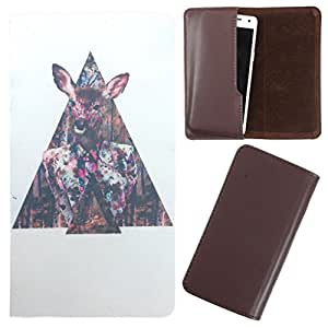 DooDa - For Nokia Lumia 532 PU Leather Designer Fashionable Fancy Case Cover Pouch With Smooth Inner Velvet