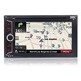 Eincar Audio Doppio Din, touchscreen, Bluetooth, navigazione / GPS, lettore DVD / CD / MP3 / USB / SD AM / FM radio stereo dell'automobile, 6.2 pollici LCD Monitor digitale, telecomando senza fili, Subwoofer, opzionale UI