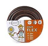 schwänlein HighFlex Universeller Gartenschlauch 13 mm (½')   27 bar Berstdruck   50 m - UV und Frost beständiger Qualitätsschlauch   Schadstofffrei   5 Jahre Garantie