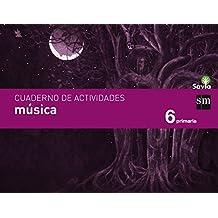 Cuaderno de música. 6 Primaria. Savia - 9788467578539