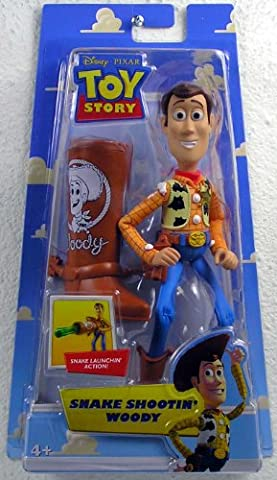 Disney PIXAR - Toy Story - Spielfiguren - SNAKE SHOOTIN WOODY FIGUR - Figur ist ca. 17 cm Hoch