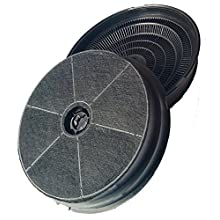PACK OF TWO CHARCOAL COOKER OVEN HOOD FILTERS FOR BELLING & STOVES