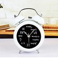 ZHUNSHI Alarm Clock Fashion Wissenschaft Digitale Metall Glocken Desktop Clock Stummschaltung Nachtlicht, 12,5... preisvergleich bei billige-tabletten.eu