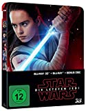 Star Wars: Die letzten Jedi (2D & 3D Steelbook Edition) [3D Blu-ray] [Limited Edition] -