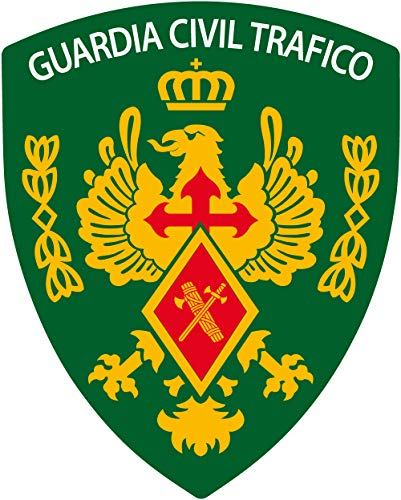 Artimagen Pegatina Escudo Pico Guardia Civil Tráfico