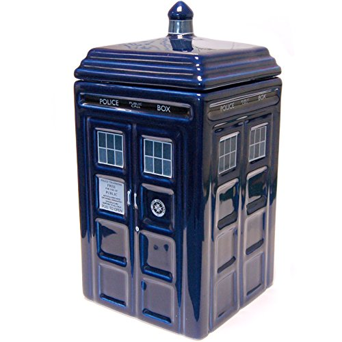 Zeon doctor who - dr. Who tardis porcelaine cookie jar