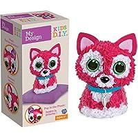 Orb Factory My Design 3D Cat Plush Toy (Multi-Colour)