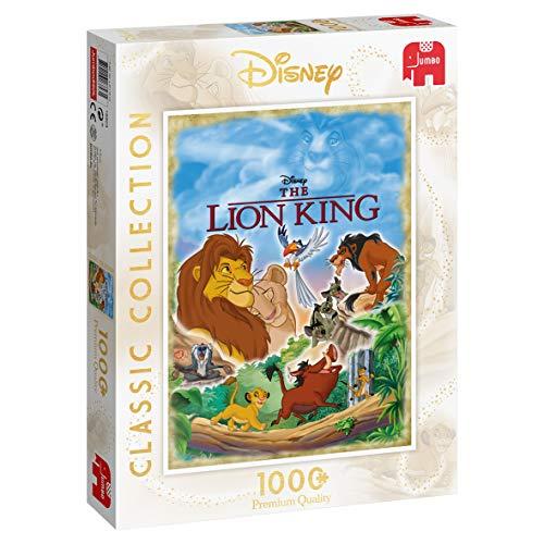 Jumbo 18823 Disney Classic Collection - Der König der Löwen, 1000 Teile Puzzle -