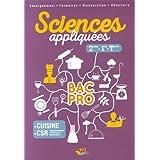 Sciences appliquées BAC PRO - Sde-1ère-Term.