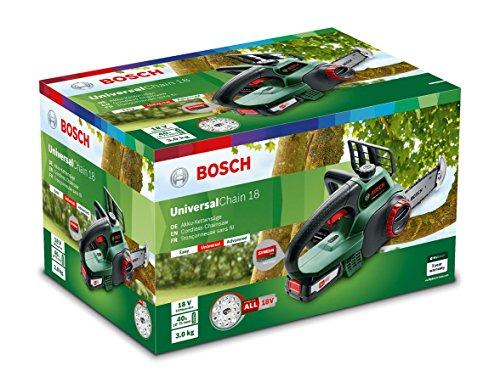 Bosch Akku Kettensäge Universalchain 18 (1 Akku, 18 Volt System, im Karton) - Bild 5
