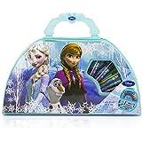 Disney Frozen - Dfr-4139 - Kit De Loisirs Créatifs - Mallette De Coloriage - Reine Des Neiges