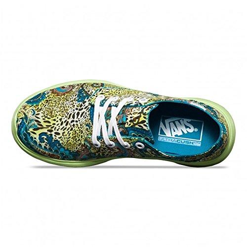 Vans Iso 2 Plus, Baskets Basses Mixte Adulte Multicolore (Leopard/Paisley/Blue Bird/Green)
