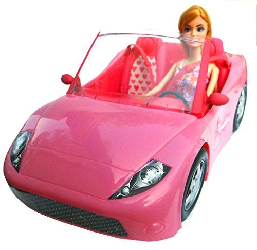 Brigamo 10681 – ✨ Puppen Auto Glam Cabrio mit Modepuppe ✨ - 3