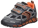 Geox Jungen J Shuttle Boy A Sneaker, Grau (Grey/Orange), 31 EU
