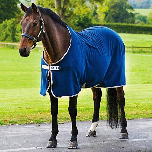 Horseware Amigo Mio Fleece Cool - navy/tan&navy - Abschwitzdecke, Groesse:160