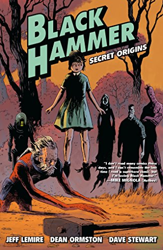 Black Hammer Volume 1: Secret Origins por Jeff Lemire