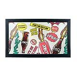 Best Trademark Global Mirrors - Coca Cola Framed Logo Mirror, Pop Art Review