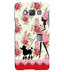 Citydreamz Beautiful Girl/Dog/Roses/Floral Print Hard Polycarbonate Designer Back Case Cover For Samsung Galaxy J2 Pro