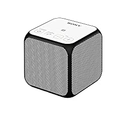 Sony SRS-X11 Compact Portable Bluetooth Wireless Speaker with NFC - White