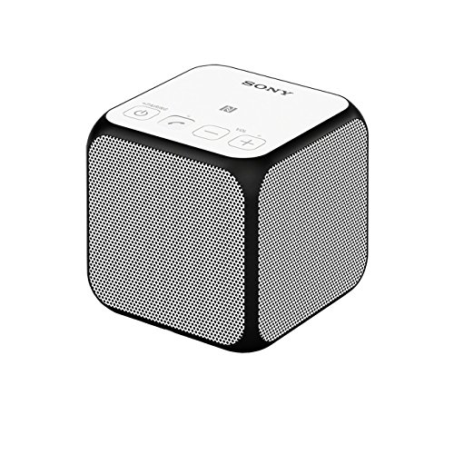 Sony SRS-X11 Speaker Wireless Portatile, Potenza 10W, Bluetooth, NFC, Bianco