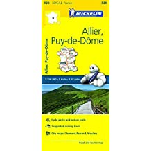 Michelin FRANCE: Allier, Puy-de-D??me Map 326 (Maps/Local (Michelin)) by Michelin Travel & Lifestyle (2016-04-07)