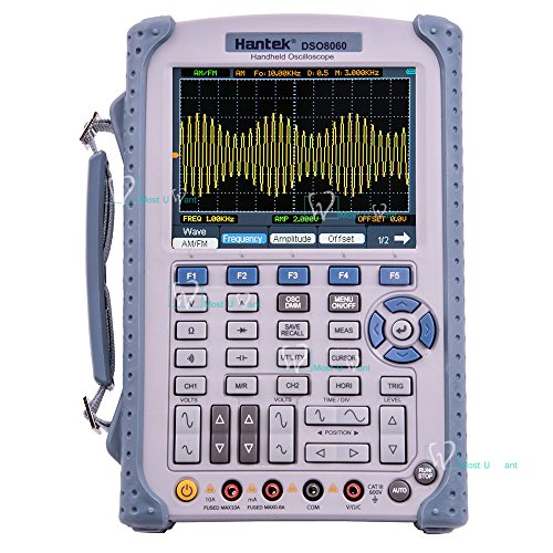 Price comparison product image Handheld Oscilloscope Multimeter 5in1 2CH 60MHz 250MSa / s Arbitrary source Frequency Spectrum Analysis Counter Arbitrary Waveform Generator