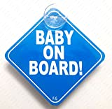 #2: BABY ON BOARD BLUE 007