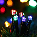 Magiclux Tech 300 LED Solar String Lights, Waterproof Outdoor Fairy Lighting for Christmas, Home, Garden, Tree, Party, Holiday Decoration - Multicolour, 38ft, 8-in-1 Mode (300 Solar Color Lights) 4