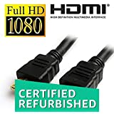 (CERTIFIED REFURBISHED) WireSwipe 3 Meter HDMI Male to HDMI Male Cable (Black)