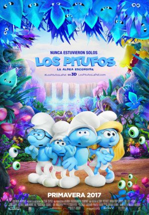 smurfs-the-lost-village-spanish-imported-movie-wall-poster-print-30cm-x-43cm-brand-new