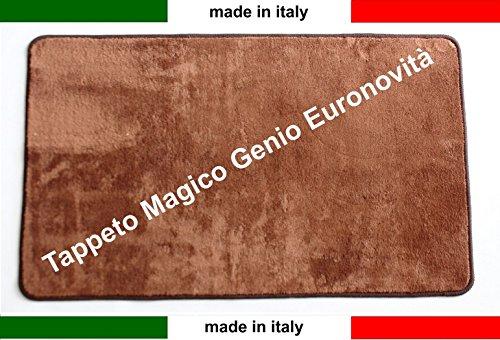 tappeto-magico-genio-50x80-vari-colori-antiscivolo-microfibrazerbinolavabile-euronovit-marrone