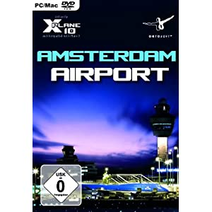 X – Plane 10 – Airport Amsterdam Schiphol (Add – On) – [PC/Mac]