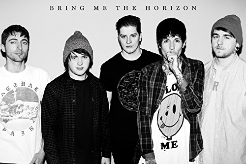 GB eye LTD, Bring Me the Horizon, Black & White, Maxi Poster, 61 x 91,5 cm