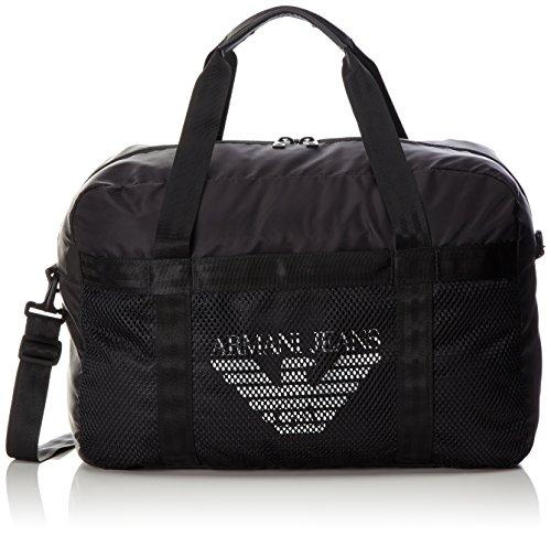 Borsone Uomo Armani Jeans 932093 7P917 00020 nero Schwarz (NERO 00020)