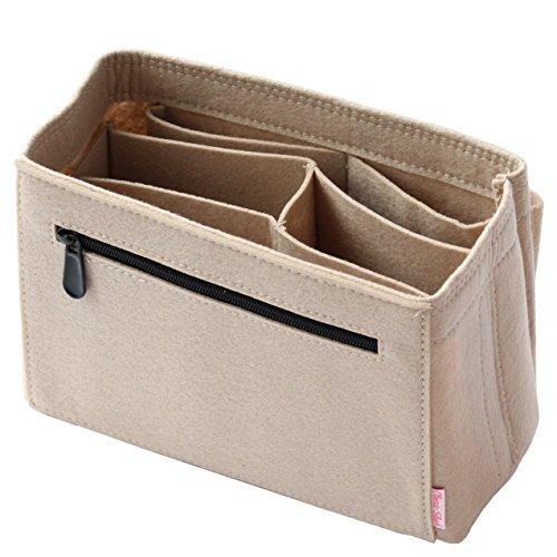 Classic Slash Taschenorganizer Filz Speedy Small für Taschen ab 23cm Innenmaß I Beige - Vuitton Handtaschen