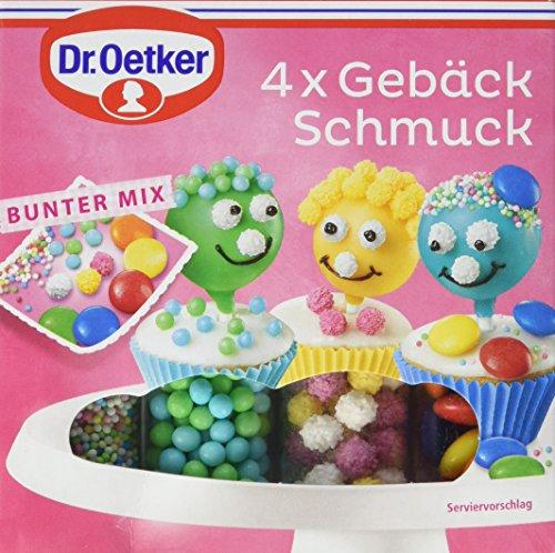 Dr. Oetker 4x Gebäckschmuck, 3er Pack (3 x 100 g)