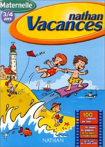 Cahier de Vacances 2001 : maternelle 3/4 ans