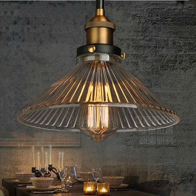 American retrò stile industriale Loft idea village Ristorante e bar unico ombrello Ciondolo lampada da parete
