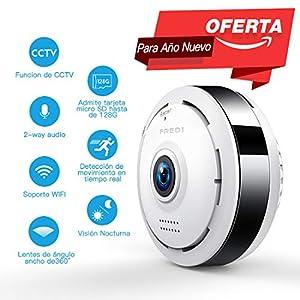 camaras y seguridad: 960P HD IP Wifi Cámara de Seguridad FREDI, Cámara de Vigilancia Panorámica de 36...