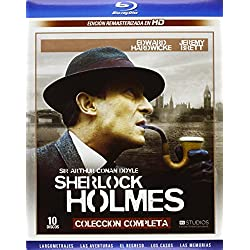 Sherlock Holmes - Sir Arthur Conan Doyle - Complete Collection - 10 Discs - [Blu-ray] Jeremy Brett (Actor), Edward Hardwicke (Actor) Miscellaneous (Director) Rated: Not recommended for children under 7 years Format: Blu-ray