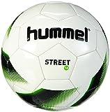 Hummel Erwachsene Fussball 1.0 Street, White/Black/Gecko Green, 5