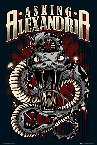 GB Eye 61 x 91,5 cm Asking Alexandria Schlange Maxi Poster - Alexandria Music Box