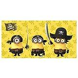Minions - Toalla de Playa Piratas (Algodón)