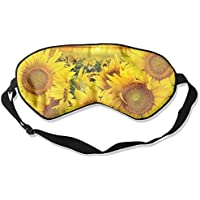 Comfortable Sleep Eyes Masks Sunflower Pattern Sleeping Mask For Travelling, Night Noon Nap, Mediation Or Yoga preisvergleich bei billige-tabletten.eu