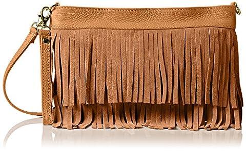 Girly Handbags Womens Gina Cross-Body Bag Tan