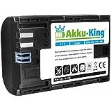 Akku-King Batterie pour Canon EOS 5D Mark II, 5D Mark III, 5D Mark IV, 5DS, 5DS R, 6D, 7D, 7D Mark II, 60D, 60Da, 70D, 80D - remplace LP-E6, LP-E6N - Li-Ion 2040mAh